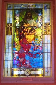 Hands Across the Sea - Stained Glass